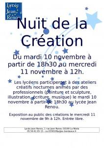 Nuit de la Création